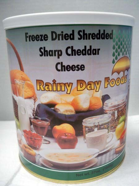 Cheese Cheddar Sharp Freeze Dried