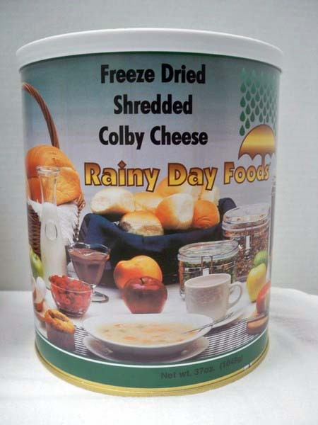 Cheese Colby Freeze Dried