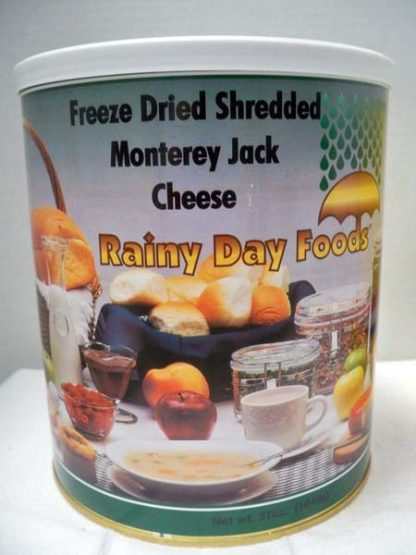 Cheese Monterey Jack Freeze Dried