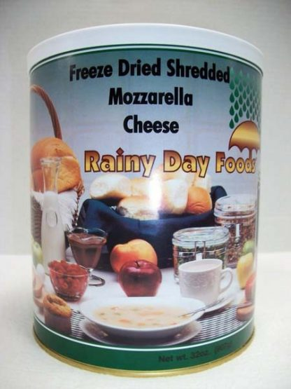 Cheese Mozzarella Freeze Dried