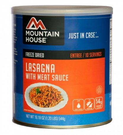 Lasagna with Meat Sauce 19.2 oz