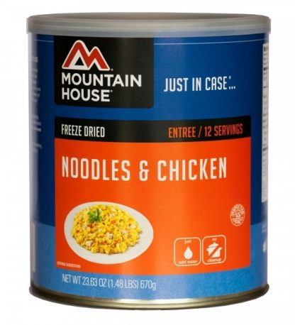 Noodles and Chicken 23.6