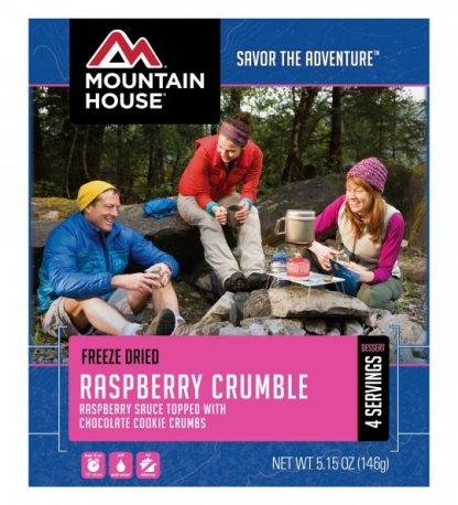 Raspberry Crumble Freeze-dried Pouched Desert