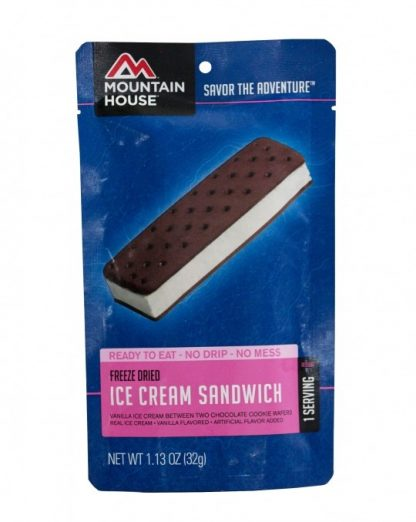 Ice Cream Sandwich Freeze-dried Pouched Desert