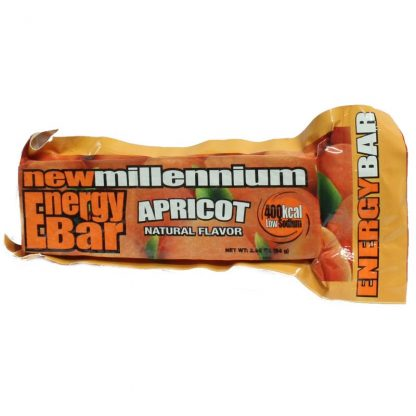 Millennium Energy Bar Apricot