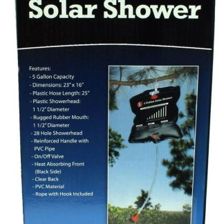 5 Gallon Solar Shower