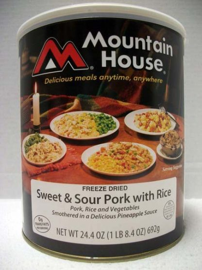 Sweet and Sour Pork with Rice 24.4 oz
