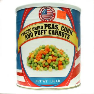 Veggie Mix (FD Corn Peas and Puffed Carrots)