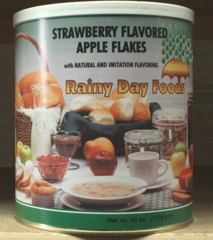 Apple Flakes Strawberry Flavor