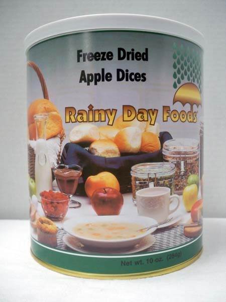 Apple Dices Freeze Dried