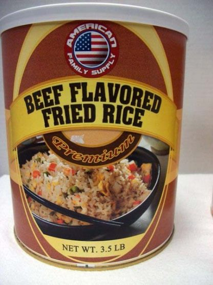 Beef Flavored Fried Rice