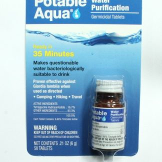 Potable Aqua Germicidal Tablets for Water Purification