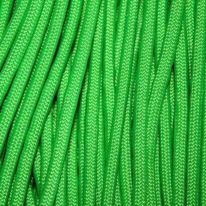 550 Paracord Neon Green 100 ft Made in USA
