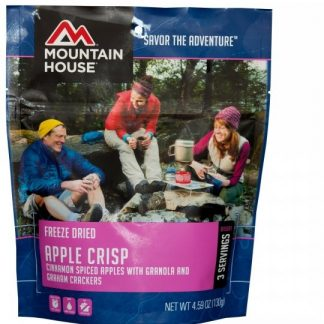 Apple Crisp Freeze-dried Pouched Desert