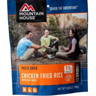 Chicken Fried Rice Freeze-dried Pouched Food or Meal