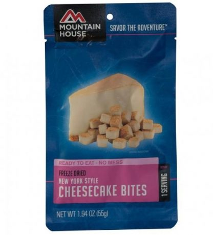 New York Style Cheesecake Bites Freeze-dried Pouched Desert
