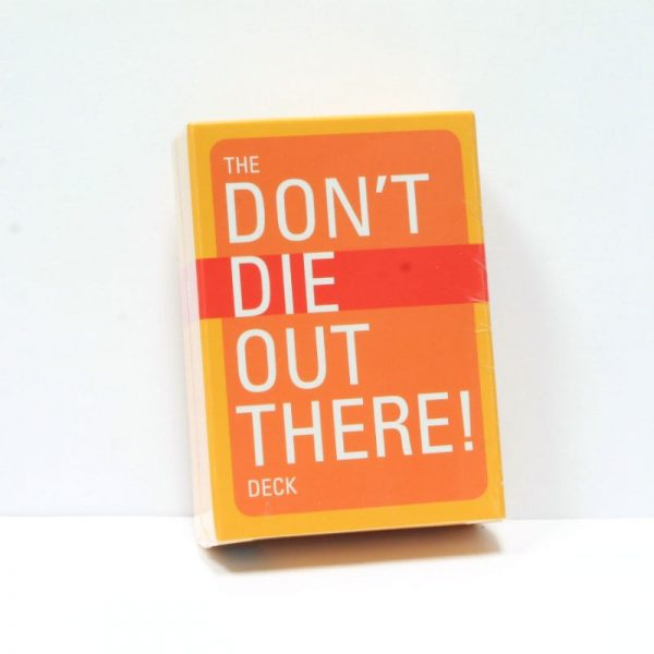 Don't Die Out There Playing Cards