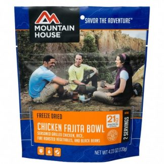 Mountain House Pouch - Chicken Fajita Bowl 2 Servings