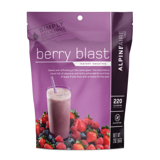 Berry Blast Instant Smoothie by AlpineAire Foods