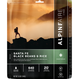 Santa Fe Black Beans & Rice by AlpineAire Foods